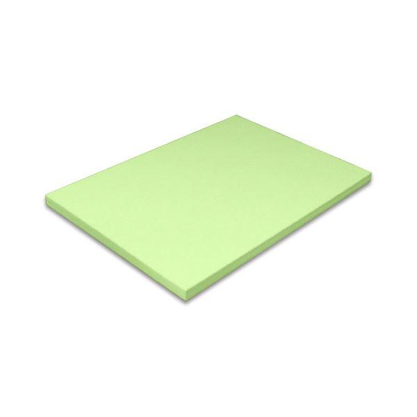 安定した品質で各種プリンターに対応した色上質紙。色上質は紀州と言われるほど長年愛されている商品です。 (まとめ)北越コーポレーション 紀州の色上質菊四(317×468mm)T目 厚口 鶯 1セット(250枚)【×3セット】