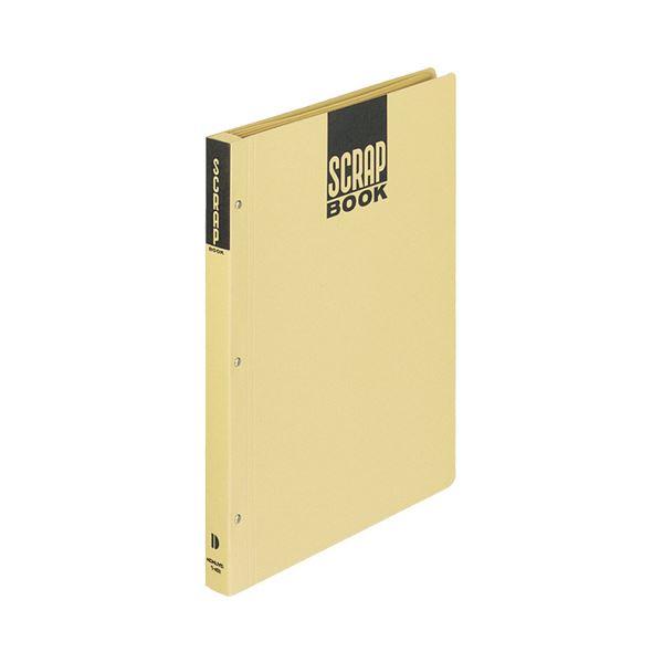 (まとめ) コクヨ スクラップブックD(とじこみ式) A4 中紙28枚 背幅25mm クラフト ラ-40N 1冊 【×30セット】