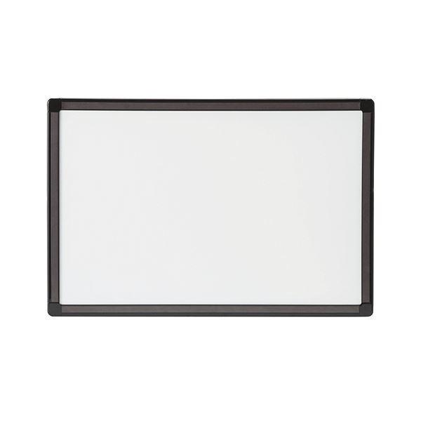 (まとめ) TANOSEEマグネット付両面ホワイトボード A3 W453×H303mm 1枚 【×10セット】 白