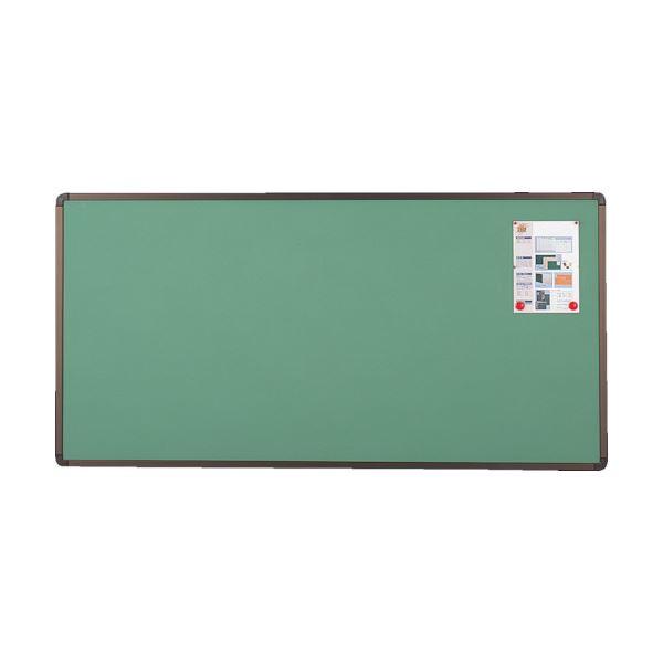 TRUSCO ブロンズ掲示板600×900 グリーン YBE-23SGM 1枚 緑