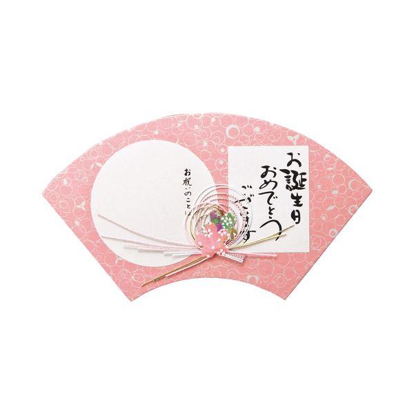 (まとめ) エヒメ紙工 和ごころ色紙 扇 桃WSO-06 1枚 【×30セット】