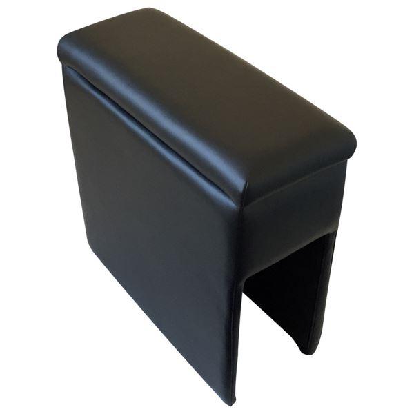 アームレスト 軽自動車 ジムニーシエラ JB64W/JB74W ブラック 黒 レザー風 日本製 スズキ コンソールボックス 収納 内装パーツ カー用品 肘掛け Azur 黒