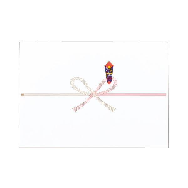 (まとめ) 寿堂 祝のし紙 花結 A3 コピー用FSC森林認証紙 55701 1パック(100枚) 【×10セット】