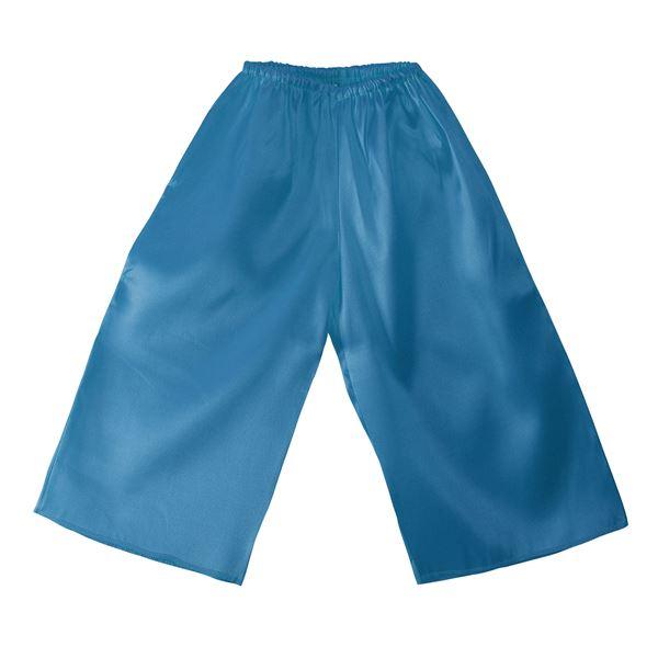 (まとめ)ソフトサテンズボン Cサイズ 青 【×10個セット】