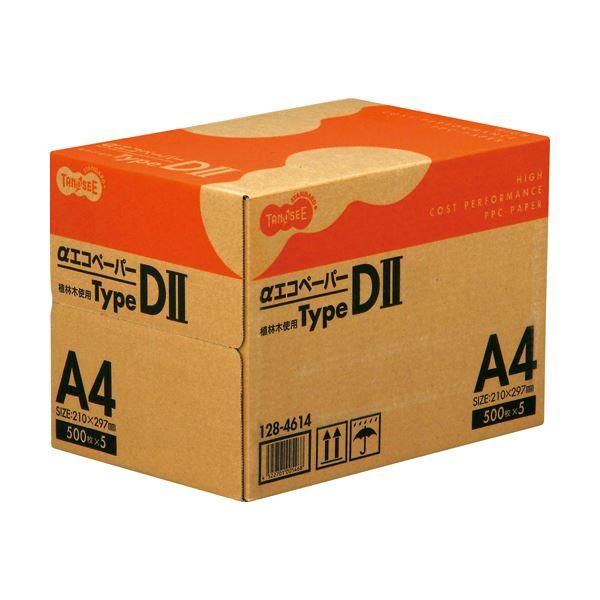 (まとめ)TANOSEE αエコペーパータイプDII A4 1箱(2500枚:500枚×5冊) 【×3セット】