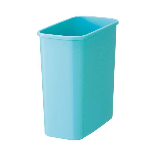 (まとめ)TANOSEE カラーダストボックスみずいろ 1セット(5個)【×5セット】