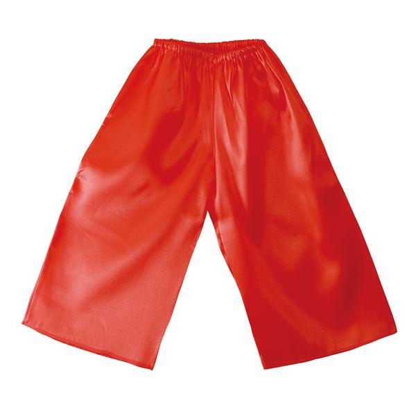 (まとめ)ソフトサテンズボン Jサイズ 赤 【×10個セット】