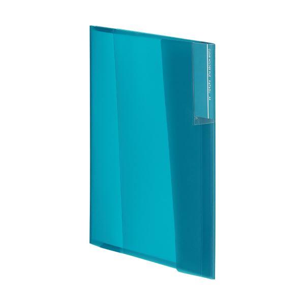 (まとめ) コクヨクリヤーホルダーファイル[KaTaSu] A4 ブルーグリーン フ-KC5720BG 1冊 【×30セット】 青 緑