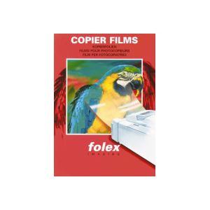 (まとめ)フォーレックス OHPフィルムPPC パソコン (普通紙複写機)用 クリア B5 X3B5P 1冊(20枚) 【×10セット】