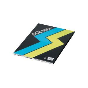 (まとめ) ゼネラル カーボン紙 片面・筆記用 黒 1300クロ 1冊(100枚) 【×5セット】