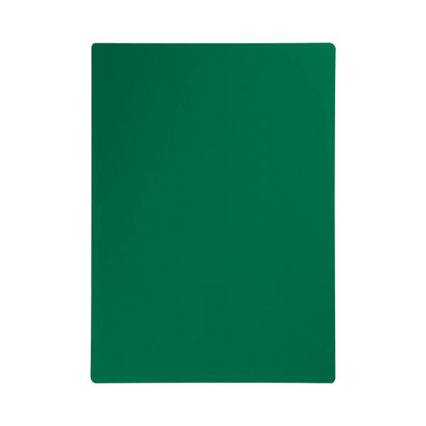 (まとめ) ベロス リサイクル下敷き B5判 透明緑 SJB-501CG 1枚 【×100セット】