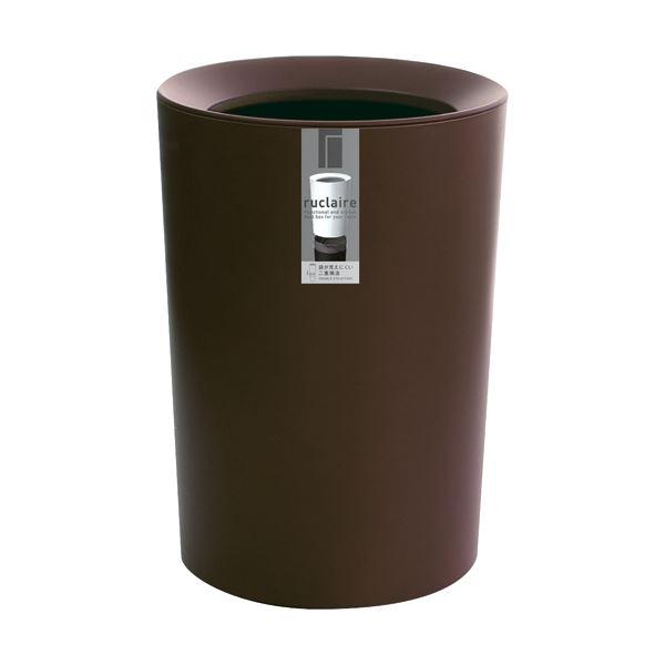 (まとめ)アスベル ルクレールCV 丸型 ブラウン6211BR 1個【×5セット】 茶