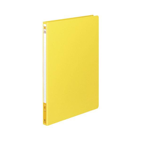 (まとめ)コクヨ ロングレバーファイル(Z式)A4タテ 120枚収容 背幅20mm 黄 フ-2300NY 1冊 【×20セット】