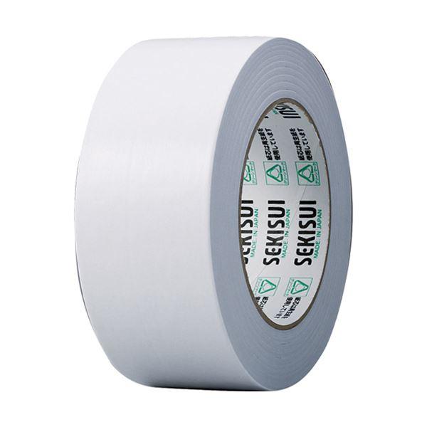 (まとめ) 積水化学 カラークラフトテープ#500WC 50mm×50m 白 K50WW13 1巻 【×30セット】