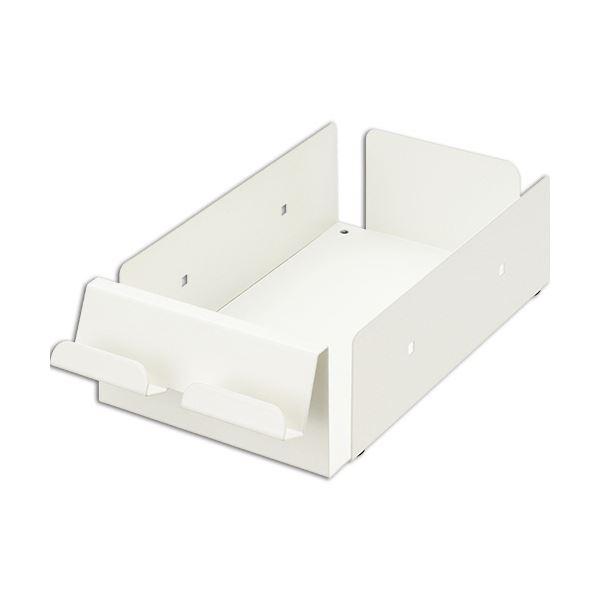 (まとめ) ライオン事務器 ケーブル 配線 トレーW140×D280×H75mm ND-KT 1個 【×5セット】