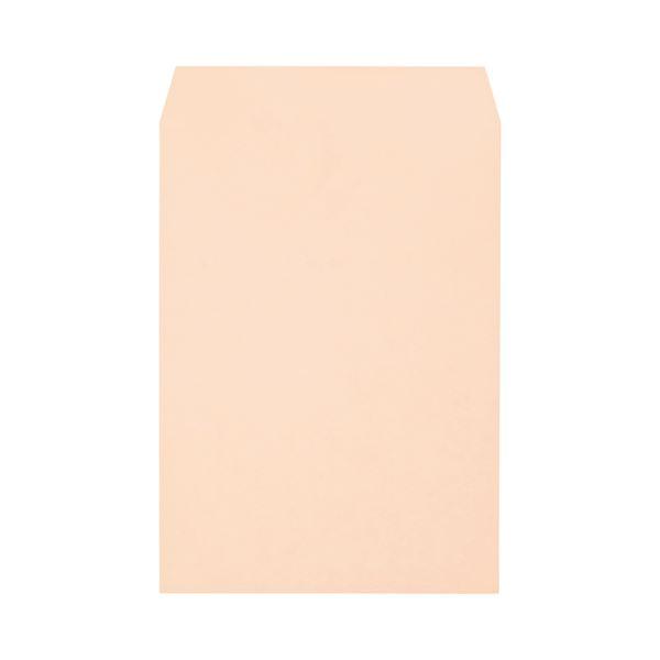 (まとめ) キングコーポレーション ソフトカラー封筒 角2 100g/m2 ピンク K2S100P 1パック(100枚) 【×10セット】