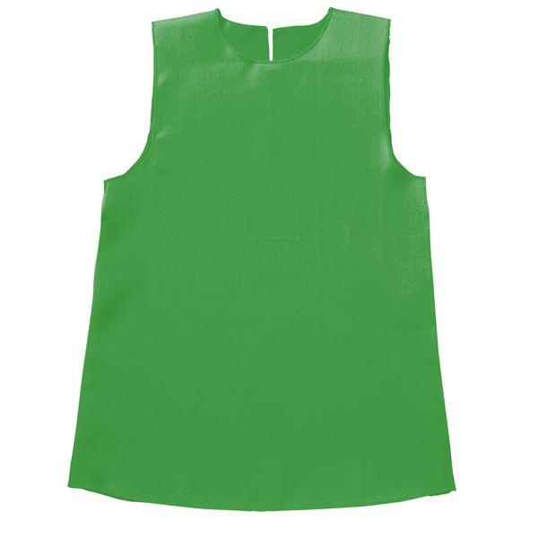 (まとめ)ソフトサテンワンピース Jサイズ(約70cm) 緑 【×10個セット】