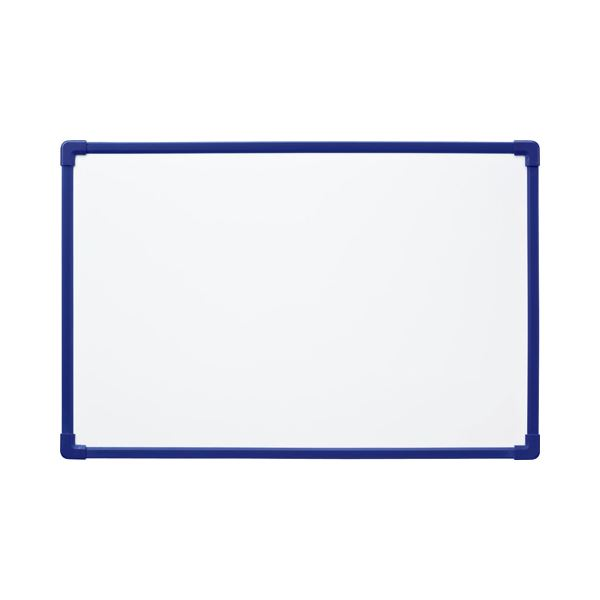 (まとめ) ホワイトボード450×300mm NWP-34 1枚 【×10セット】 白