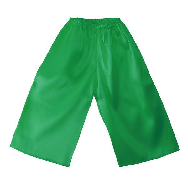 (まとめ)ソフトサテンズボン Cサイズ 緑 【×10個セット】