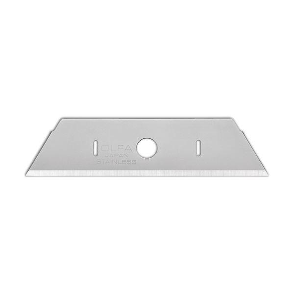 (まとめ)オルファオールメタルセーフティカッター替刃 MSFB-10 1セット(100枚:10枚×10パック)【×3セット】