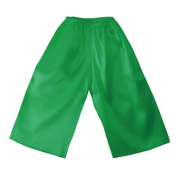 (まとめ)ソフトサテンズボン Jサイズ 緑 【×10個セット】