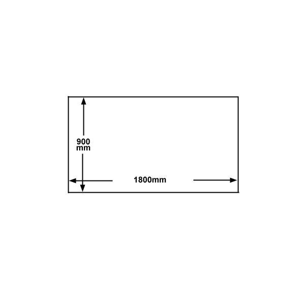 マグエックス ホワイトボードシート MSHW-90180-M 白
