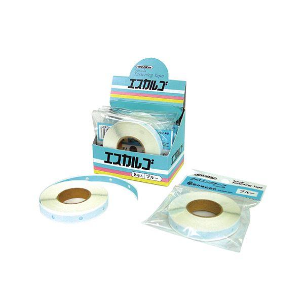 (まとめ) 桜井 ニューエスカルゴ専用テープ6mm×11m ブルー BGF012 1個 【×30セット】 青
