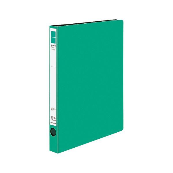 (まとめ)コクヨ リングファイル(ER・PP表紙)A4タテ 2穴 170枚収容 背幅29mm 緑 フ-UR420NG 1冊 【×20セット】