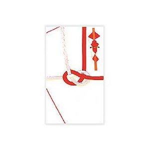 (まとめ) 赤城 紅白7本 金封 祝無地 大阪折 キ162 1枚 【×100セット】
