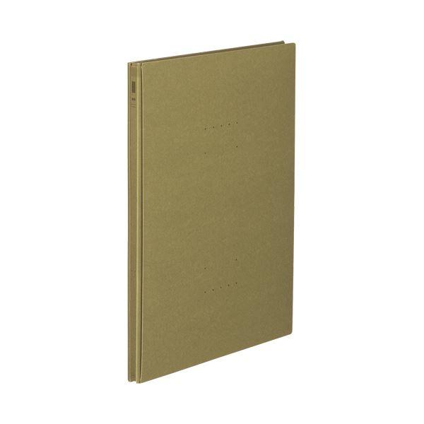 (まとめ)コクヨ ガバットファイル(NEOS)A4タテ 1000枚収容 背幅14~114mm オリーブグリーン フ-NE90DG 1冊 【×20セット】