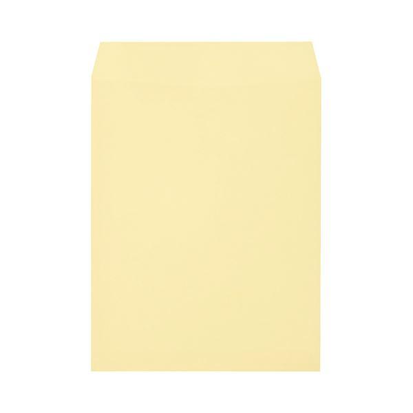 (まとめ) キングコーポレーション ソフトカラー封筒 角3 100g/m2 クリーム K3S100C 1パック(100枚) 【×10セット】