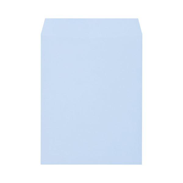 (まとめ) キングコーポレーション ソフトカラー封筒 角3 100g/m2 アクア K3S100A 1パック(100枚) 【×10セット】