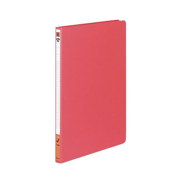 (まとめ) コクヨ レターファイル(色厚板紙) A4タテ 120枚収容 背幅20mm 赤 フ-550R 1冊 【×30セット】