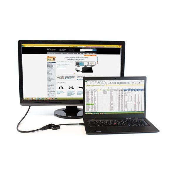 StarTech MiniDisplayPort接続トラベルA Vアダプタ MDP2HDVGA 1台DIYWHE29