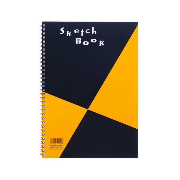 (まとめ) マルマン スケッチブック A4 並口 24枚 S131 1冊 【×30セット】