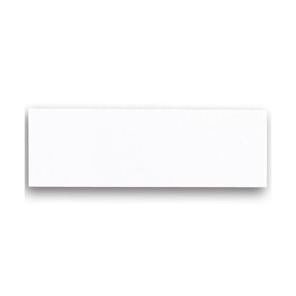 (まとめ) 光 サインプレート 無地 テープ付 タテ50×ヨコ150×厚み2mm アクリルホワイト UP515-T 1枚 【×30セット】 白