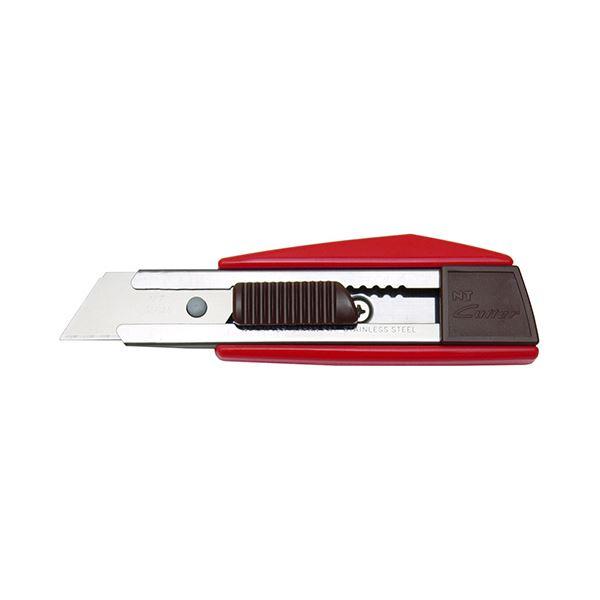 (まとめ) NTカッター コンパクトL型カッターレッド ZL-1P 1本 【×30セット】 赤
