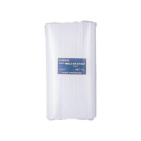 (まとめ)白光 ホットメルト接着剤 1kg 乳白色811 1個【×3セット】