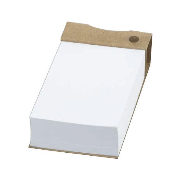 (まとめ) TANOSEE ツインペン立てメモ クラフト表紙天のりとじ 1冊 【×30セット】