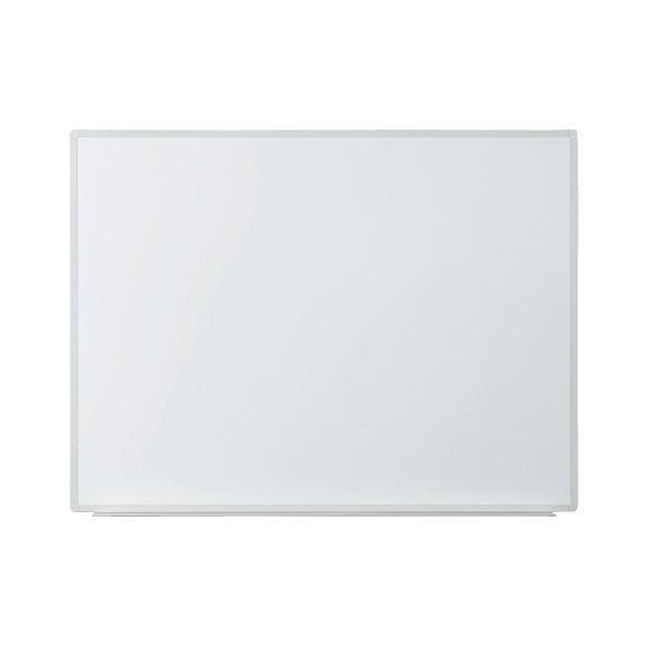 プラス 壁掛ホワイトボード 無地 幅1180mm VSK2-1209SS 白