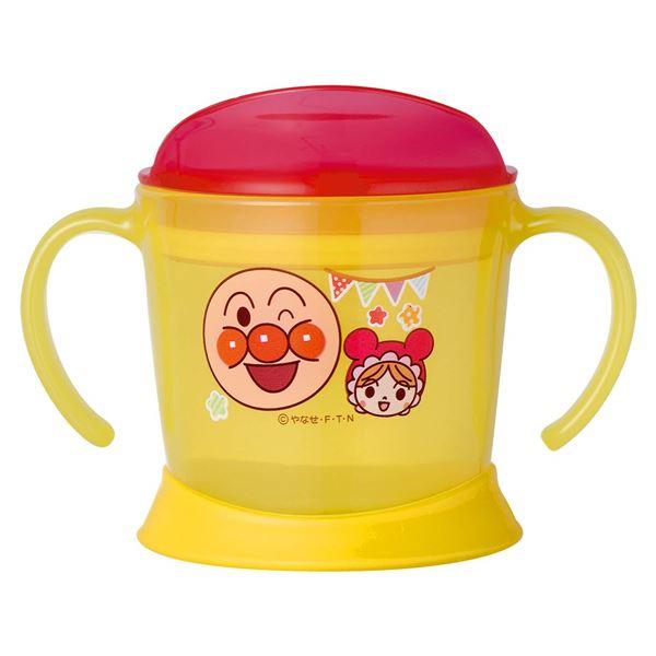 【アンパンマン】 子供用 ステップアップコップ/マグカップ 【約140ml】 両手付きマグ 柔らか底面 【120個セット】