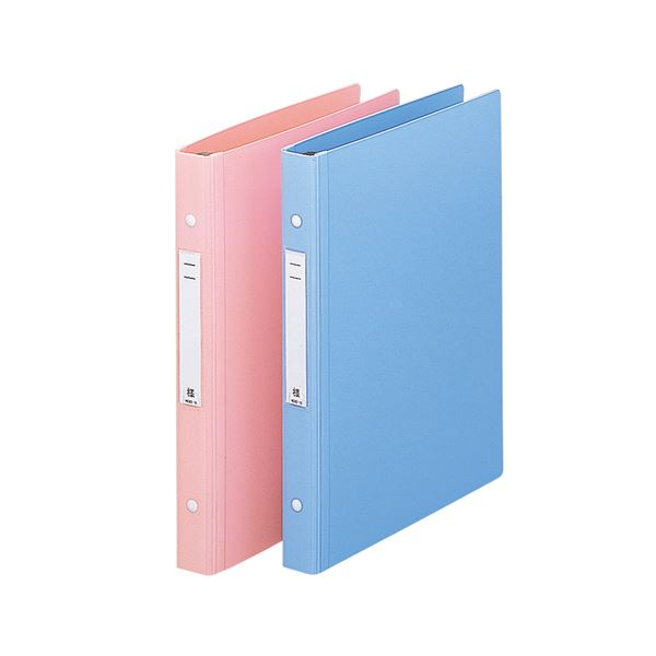 リヒトラブメディカルサポートブック・スタンダード A4タテ 4穴 180枚収容 ピンク HB657-51セット(10冊)
