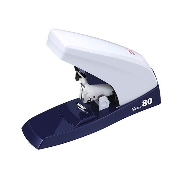 (まとめ)マックス バイモ80 80枚とじ ホワイト HD-11UFL/W 1個【×3セット】 白