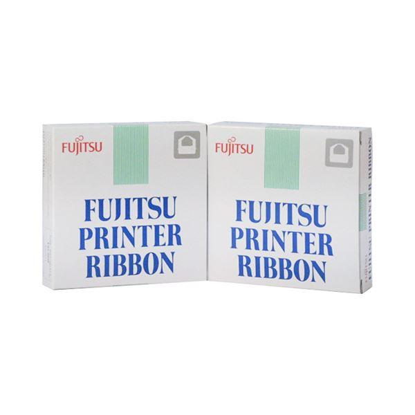 (まとめ) 富士通 新リボンカセット DPK30000322811-P 1箱(2本) 【×5セット】