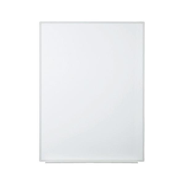 プラス 壁掛ホワイトボード 無地 縦型 幅880mm VSK2-0912SS 白