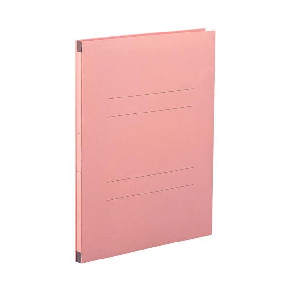(まとめ) セキセイ のびーるファイル(エスヤード) A4タテ 1000枚収容 背幅17~117mm ピンク AE-50F 1セット(10冊) 【×5セット】