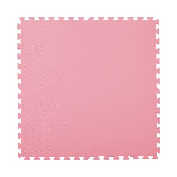 マスセットやわらかEVAマット2枚組(防炎)ピンク