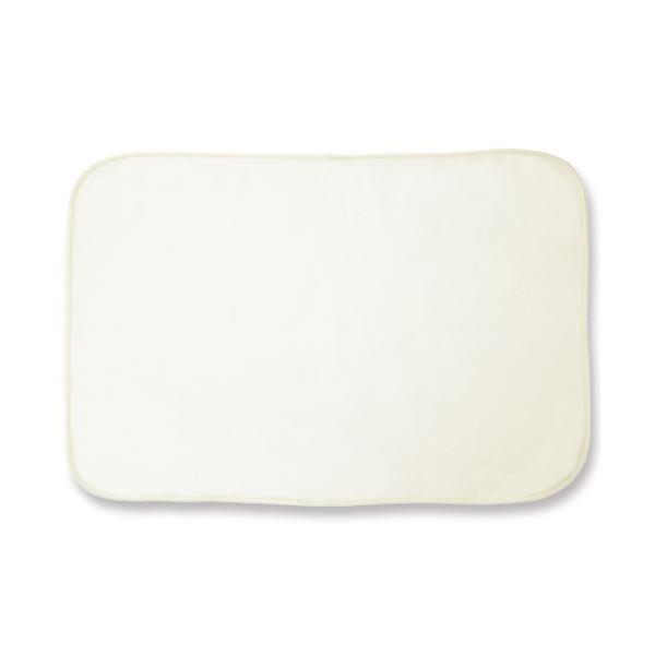 (まとめ)オーミケンシ フリースひざ掛けオフホワイト 1枚【×10セット】 白
