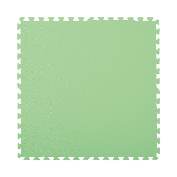 マスセットやわらかEVAマット2枚組(防炎)グリーン 緑