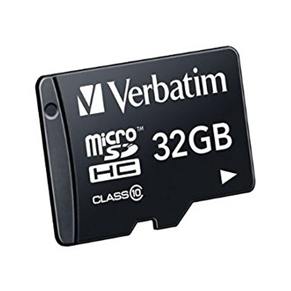 (まとめ)バーベイタム micro SDHCCard 32GB Class10 MHCN32GJVZ1 1枚【×2セット】
